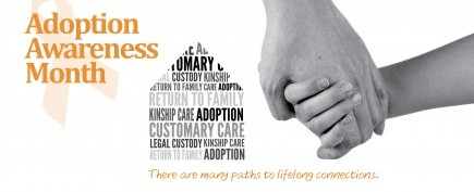 Adoption Awareness Month